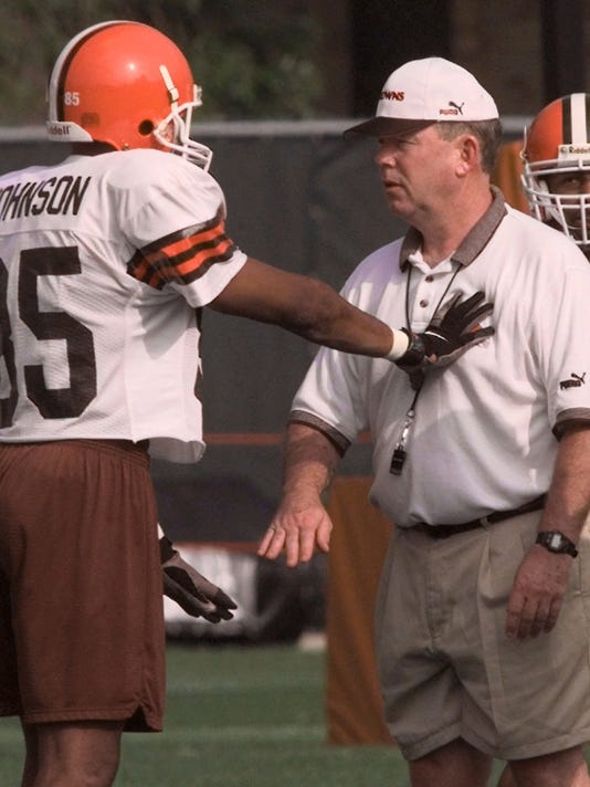 CLEVELAND BROWNS - CHRIS PALMER