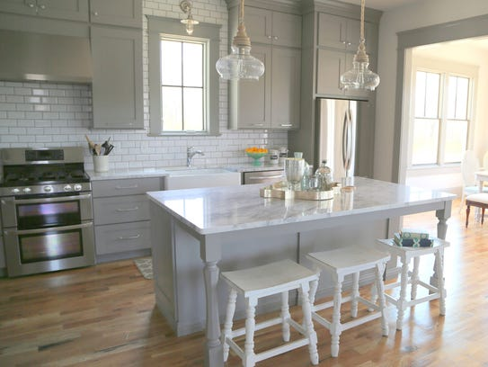 So Many Ways To Go Green Even The Kitchen Island: The Decorologist Shares Top Kitchen Design Trends