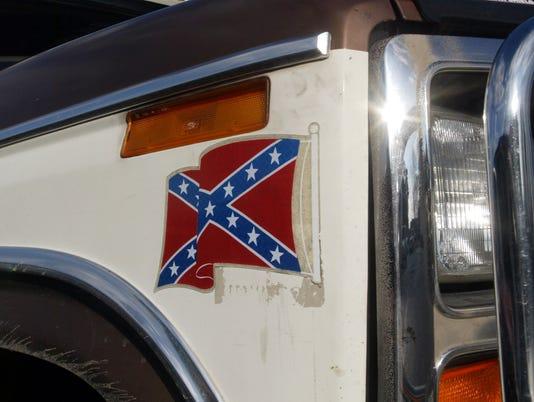 XXX CONFEDERATE FLAGS ON TRUCKS A FEA USA VA