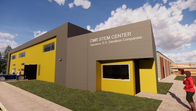 The new C.M. Russell High Scool STEM Center will be equiped by D.A. Davidson Companies, thanks to a $150,000 donation in July.