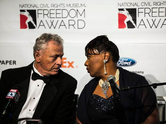 October 19, 2017 - Freedom Award honorees Morris Dees,