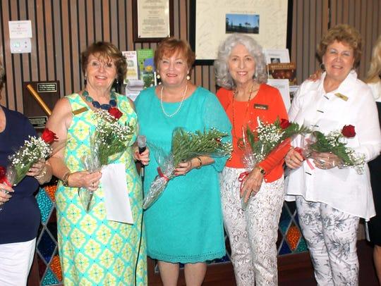 May birthday ladies are Patty Larkin, Trisha Pease,