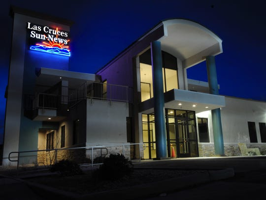 The Las Cruces Sun-News building, 256 W. Las Cruces Ave.