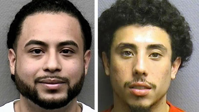 Michael Armando, left, and Jesse Zelaya