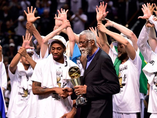 Spurs rout Heat in Game 5 for fifth NBA championship