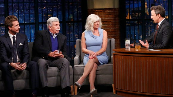 Seth Meyers talked about the new addition to his family