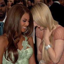 Beyonce and Gwyneth Paltrow have been pals for years. Now, could their respective divorces be bringing them closer?