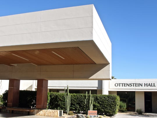 A view of Betty Ford Center's patient entrance and Ottenstein Medical Facility.