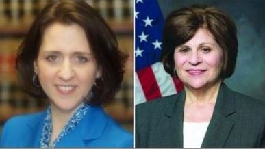 Candidates Rachel Tanguay-McGuane, left, and Carol Barbash, right, are running against one another in the Democratic primary for  Rockland County Family Court Judge. The primary election is Sept. 10.