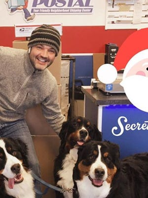 Josh Crandell started his business, Goin' Postal, in 2007 in West Des Moines.