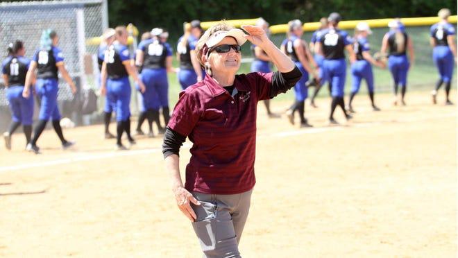 Eureka College softball coach Debi Neff