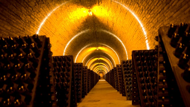 A look at the Krug cellars in Reims, France. Olivier Krug will hold an unprecedented tasting of his family's Champagnes on Thursday to kick off Naples Winter Wine Festival.