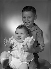 Janice Perry and her brother, Leroy Wayne Perry.