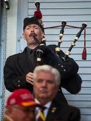 Jesse Callender of the Great Falls Shrine Band Players