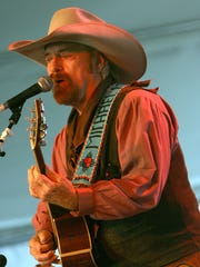 Country legend Michael Martin Murphey performs at the Choteau Stage Stop Inn for a dinner show Wednesday, April 4.