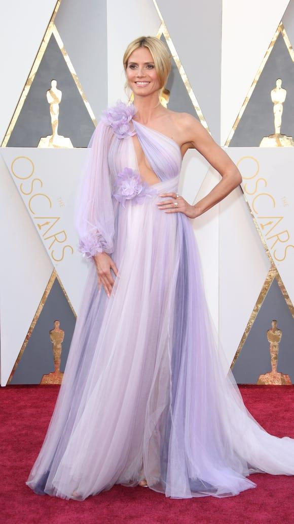 """Heidi should've said """"Auf Wiedersehen"""" to this gown."""