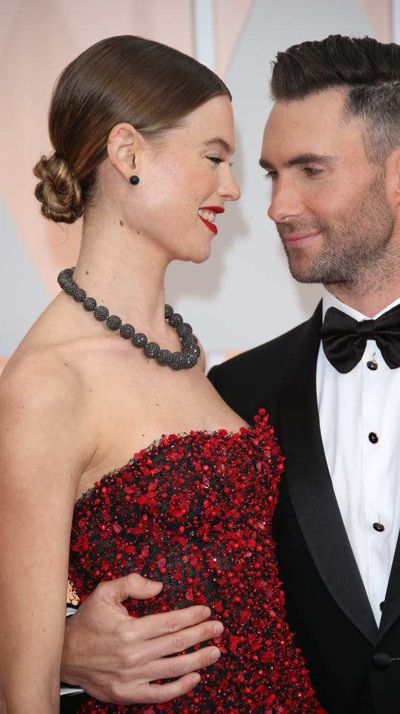 The lovebirds at the Oscars in 2015.