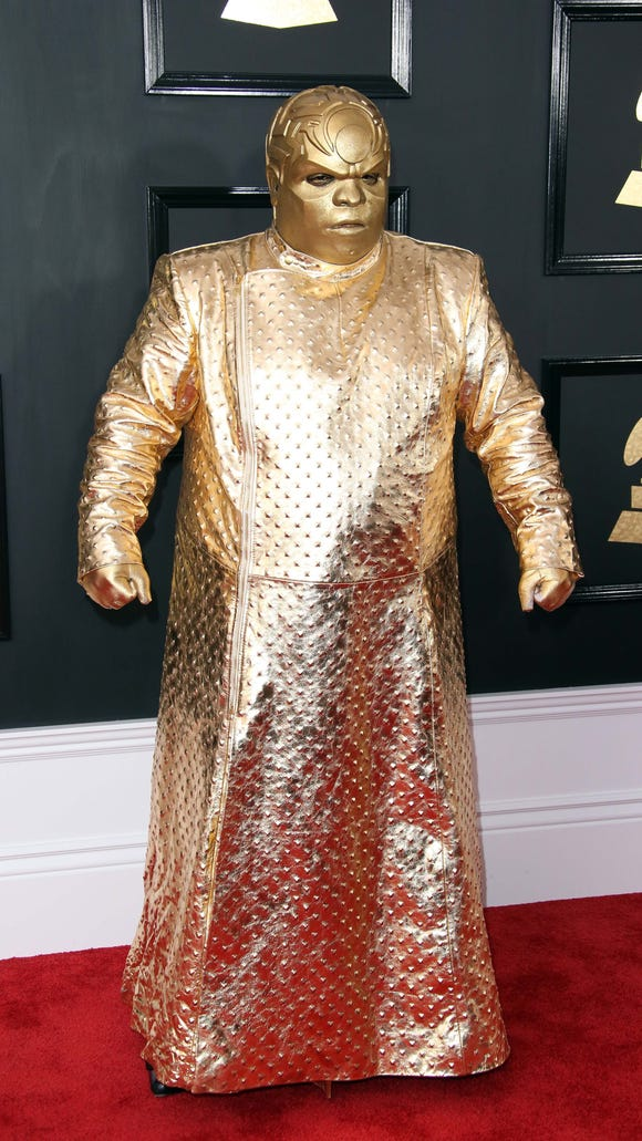 CeeLo loves gold!