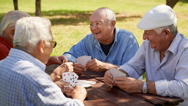 Active retired people.