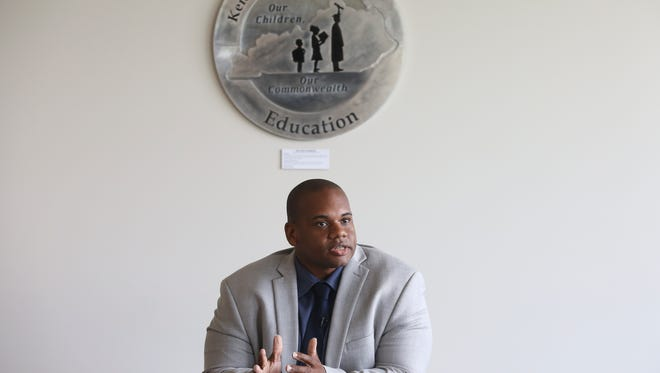 Wayne Lewis, Kentucky's education commissioner, in July 2018.