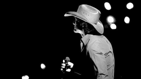 Tim McGraw performs during the 51st Academy of Country