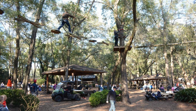 The Tallahassee Museum opened its doors to the public to experience their wildlife and nature. There were also musical and dance performances as entertainment.