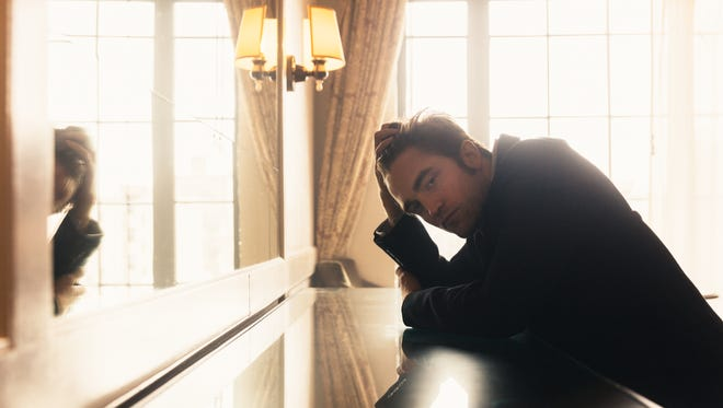 'Good Time' star Robert Pattinson, 31, sits for a portrait at New York's Bowery Hotel.