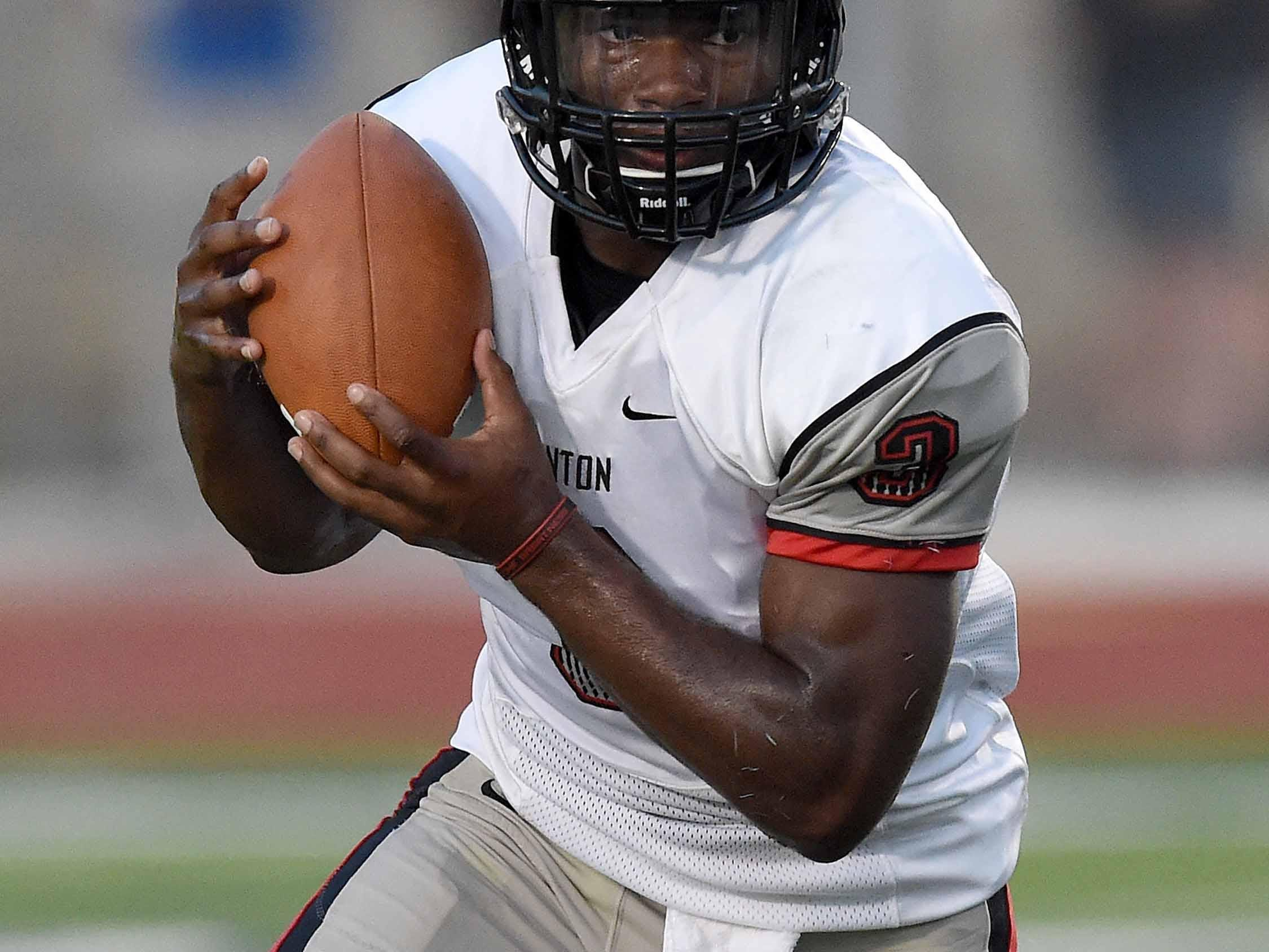 Clinton's Cam Akers was among a handful of Mississippi prospects who heard from Division I coaches on the first day of the evaluation period.