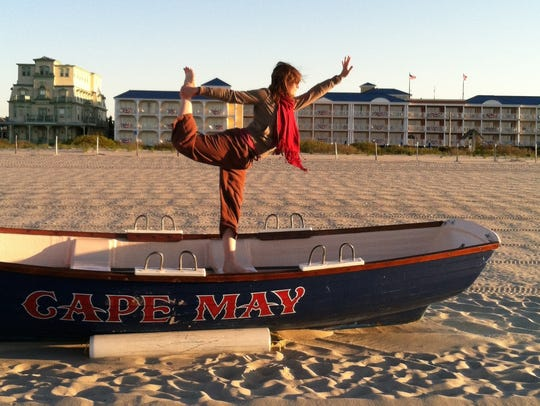 Enjoy yoga on Cape May's beaches during the Yoga Detox