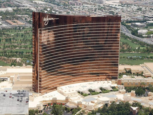 Aerial Views Of Las Vegas Casinos