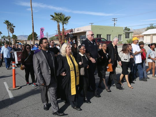 Community leaders hope Monday's walk will help bring together residents in Desert Hot Springs.