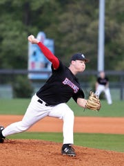 USJ's Charlie Darnall is 5-1 with a 2.18 ERA and 54 strikeouts.