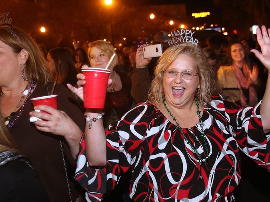Expect plenty of revelers to take to the streets of downtown Tallahassee on New Year's Eve.
