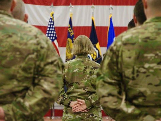 Twenty-three Citizen-Soldiers with Detachment 3, G