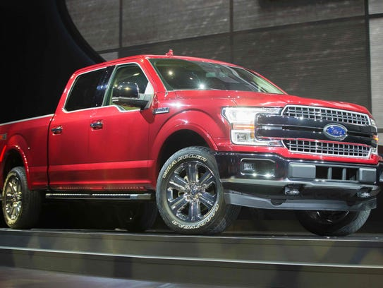 The Ford F-150 is a top seller for the Dearborn automaker.