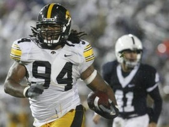 Former Iowa defensive end Adrian Clayborn was a huge part of Iowa's stellar 2009 defense. Clayborn was the 20th overall pick by Tampa Bay in the 2011 NFL Draft.