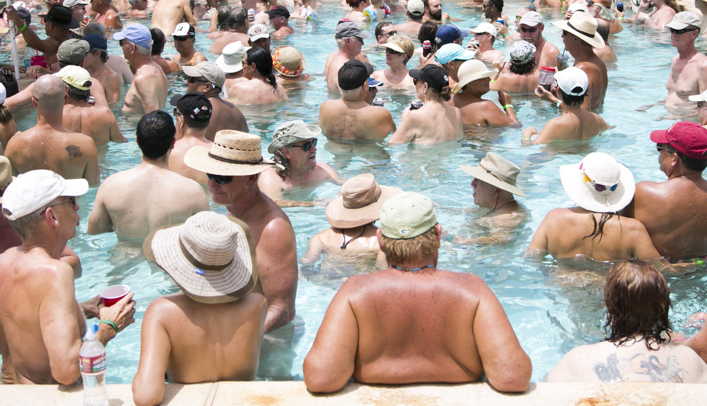 Shangra la nude resort