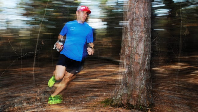 A hip injury derailed Jake Anderson's attempt at completing the Ozark Trail 100 Miler well past the halfway point of the endurance, trail-running race.