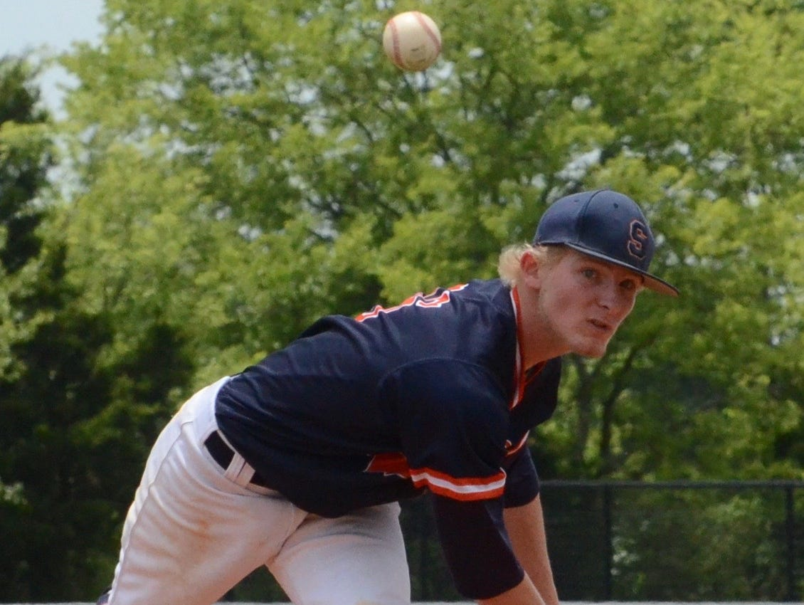 Right-hander Chris Mcelvain allowed just two hits in six scoreless innings as Summit beat Gallatin 10-0.