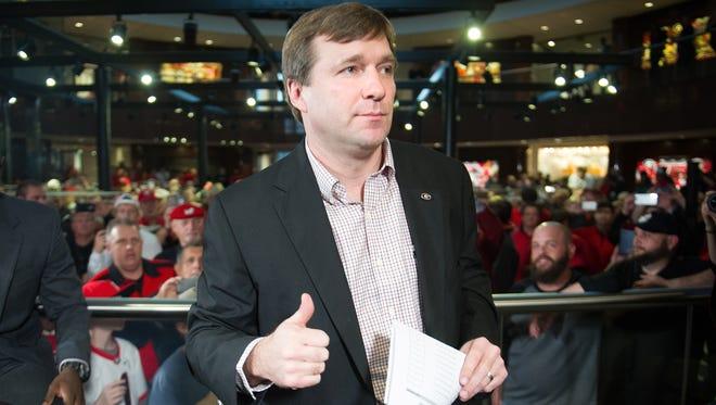 Georgia coach Kirby Smart