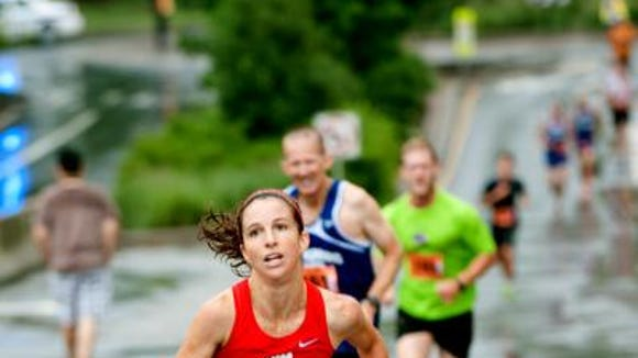 Keelin Schneider, of Black Mountain, was the female winner at the Bele Chere 5K last year.