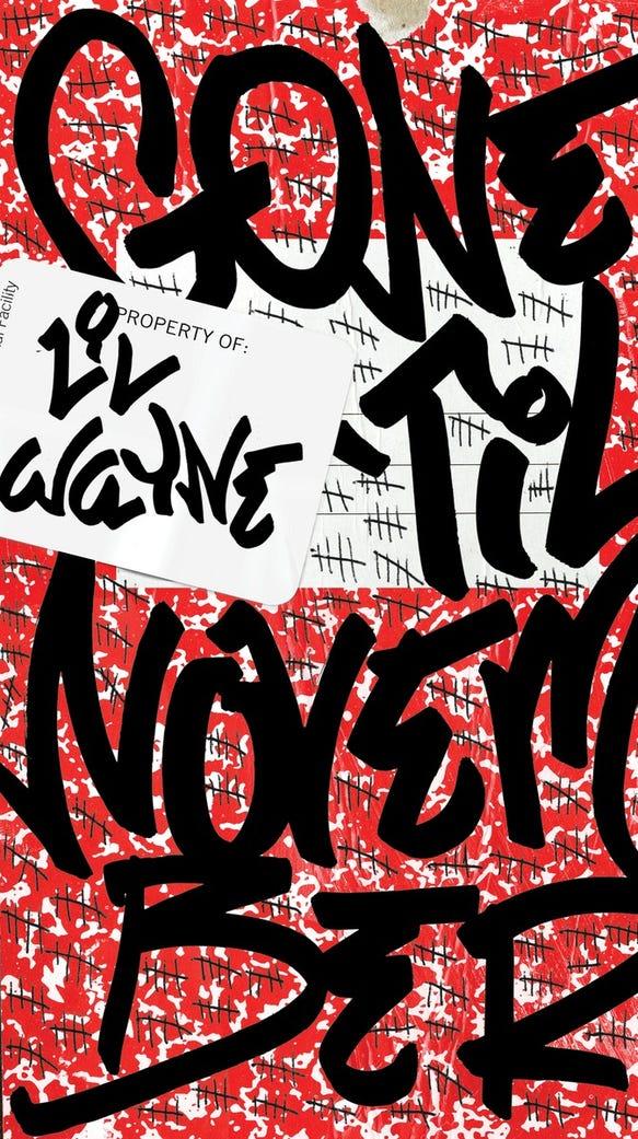 The cover of Lil Wayne's 'Gone 'Til November.'