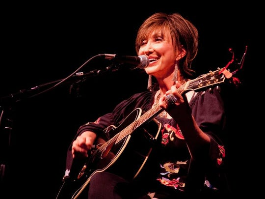 The Pam Tillis trio traveled from Nashville to provide the entertainment at Mayfair.