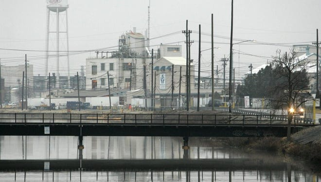 The Chambers Works site in Deepwater, N.J. DuPont announced this month it will lay off 100 employees from the facility and outsource their production to India.