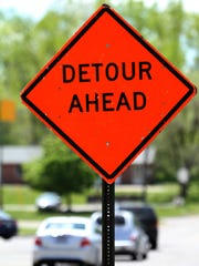 Detours have become a way of life for some Canton residents