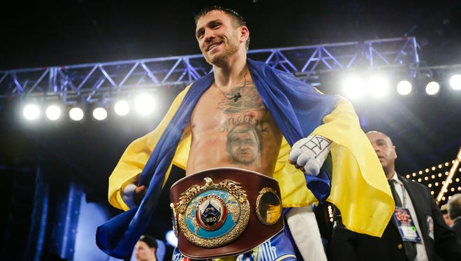 Vasyl Lomachenko will defend his WBO World junior lightweight title against Jason Sosa on April 8 in Oxon Hill, Maryland. He will be one of three Ukraine fighters who train in Oxnard on the card.