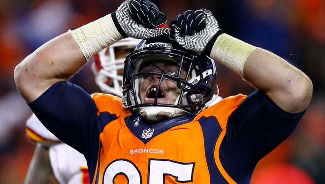 Broncos DL Derek Wolfe seems to be recapturing his previous form in training camp this summer.