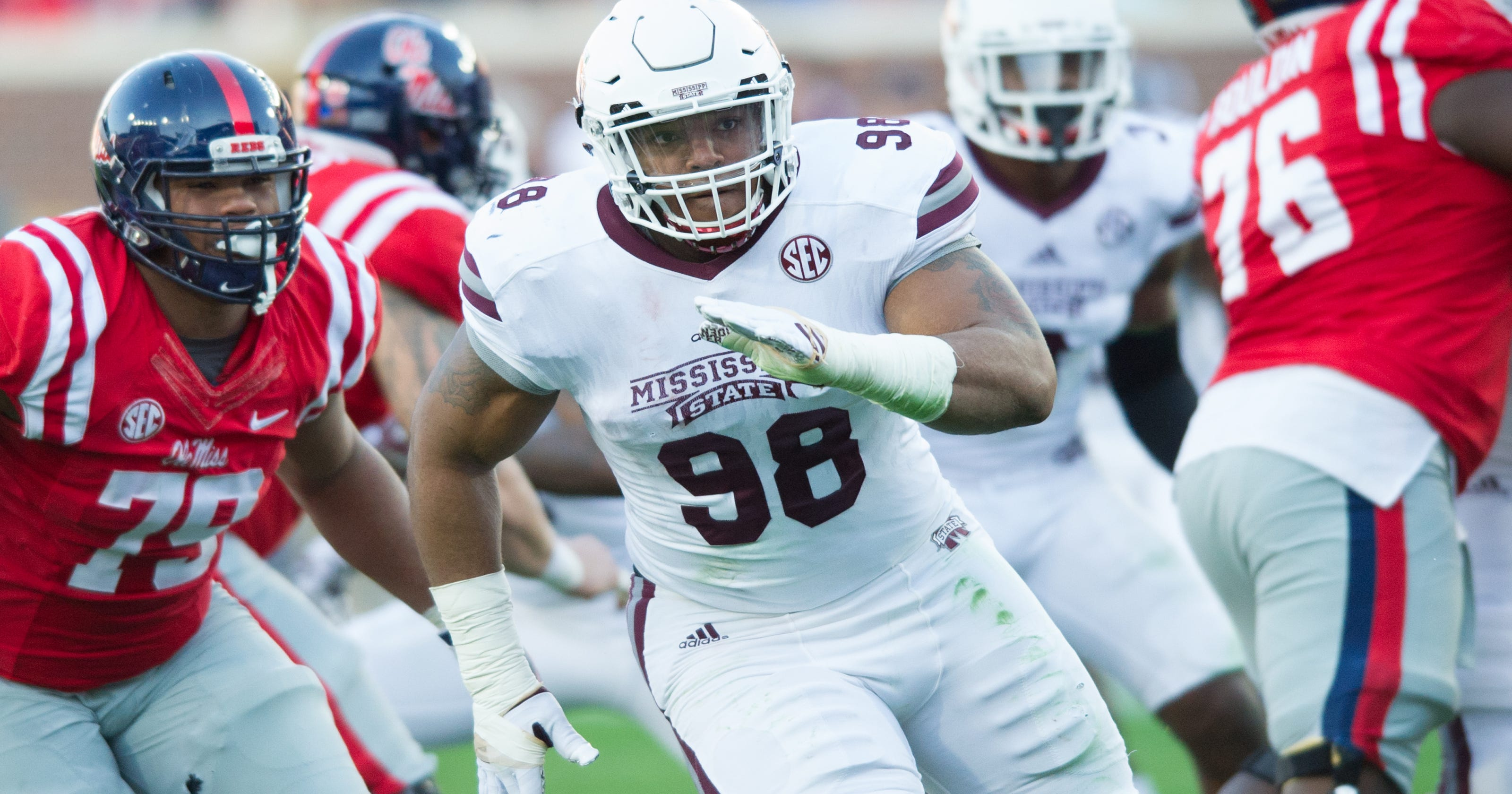 Image result for jeffery simmons mississippi state