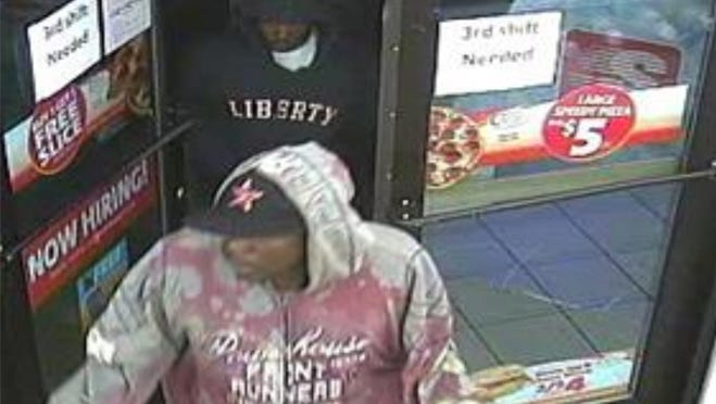 South Milwaukee police released video screen shots of suspects in the hold-up of a Speedway convenience store at 2102 S. Chicago Ave.