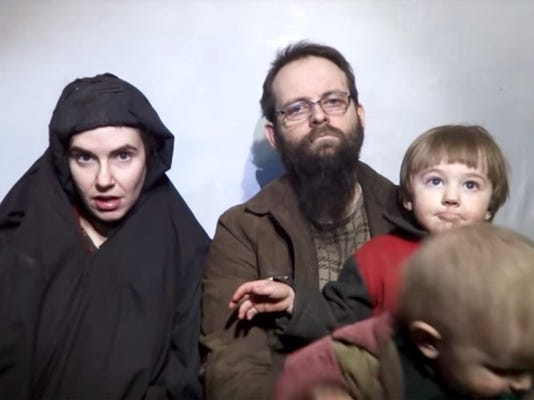 US woman and her family freed after being held 5 years by Taliban-linked group